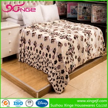 Hot Sale 100% cotton polyester suzhou blanket bedding set made in india