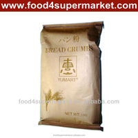 Panko Bread crumbs white and yellow chicken/meat/seafood recipe 10kg in Kraft bags