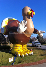 2016 Popular inflatable turkey,inflatable turkey model,advertising inflatable turkey