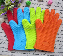 Heat Resistant Silicone BBQ Gloves Cooking And Grill Gloves -Protect Your Hands And Avoid Accidents