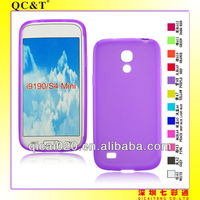 TPU phone case for Samsung galI9190/GALAXY S4 MINI