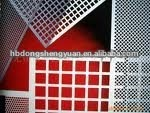 perforated screen plate