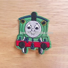 Custom cloth iron on embroidery patch of percy for children