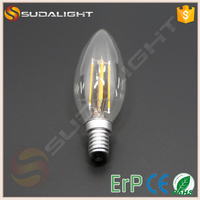 ERP certificate Auto Lighting System dimmable led filament bulb