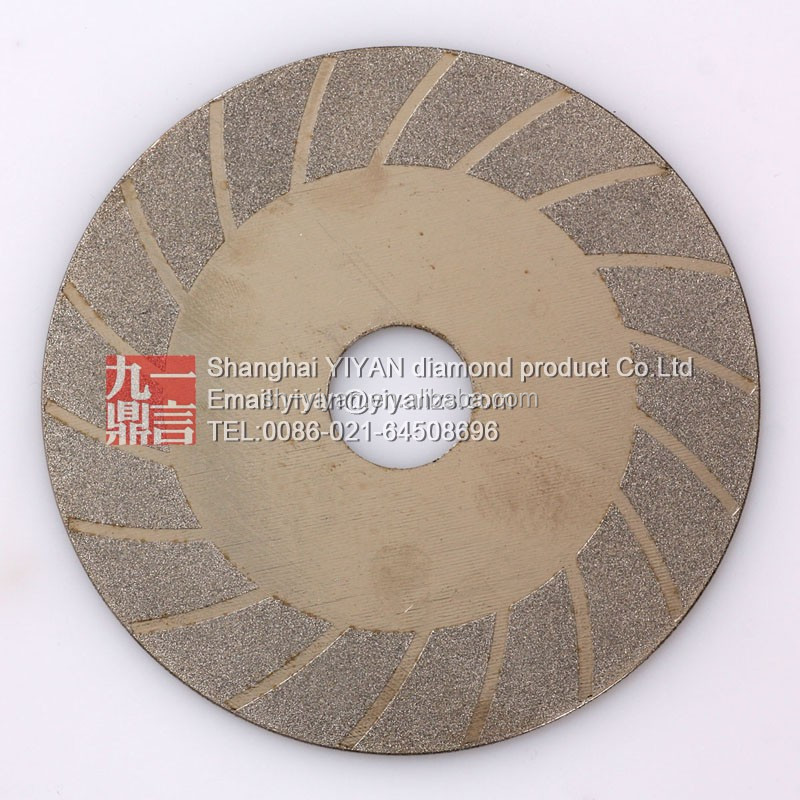 excellent quality grinding disc/electroplated diamond disk for lapidary
