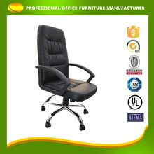 OEM Swivel Boss Moving PU Executive Leather Swivel Office Client Chair