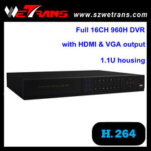 Low price surveilliance security 16 Channel DVR TD-5416E H.264 Full 960H Real Time security cameras h 264 dvr viewer
