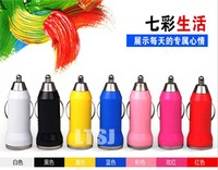 promotional hot selling 1000pcs/lot single port usb car charger for car free shipping via DHL