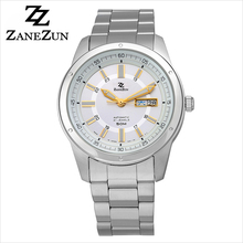 japan mechanical movement watch 50m water resistant mens cool watch