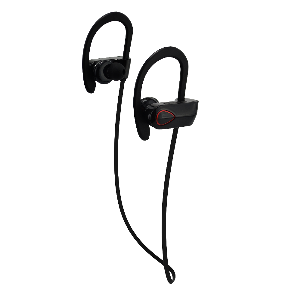 Hot sale IPX7 in-ear waterproof stereo bluetooth headset V4.1 wireless blue tooth headphone
