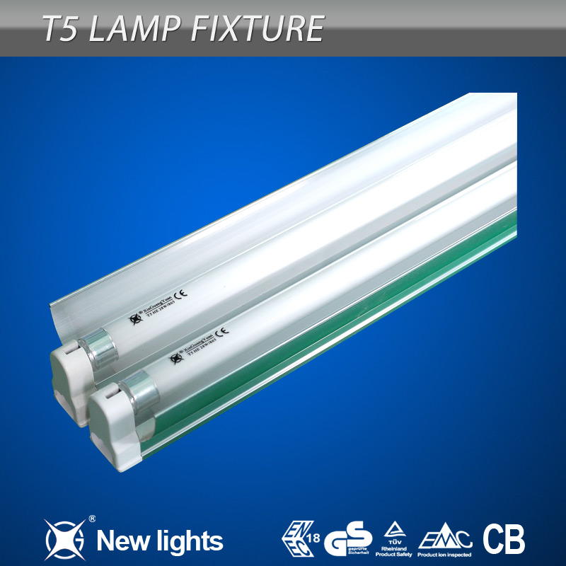 2x28w T5 fluorescent twin tube lighting fixture