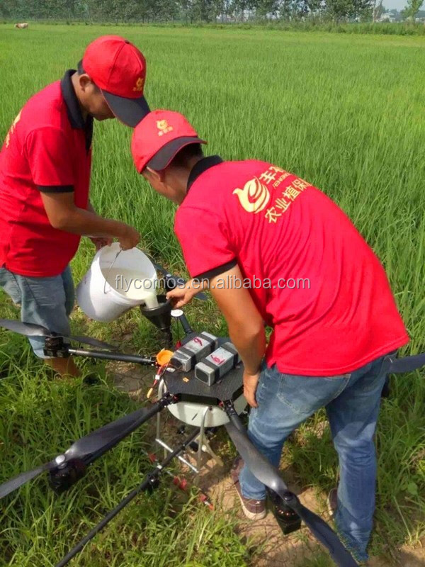 Foldable UAV XYX-803 10KG Agrcultural Drone Sprayer with 6S 12000mAh battery