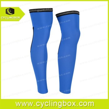 2014 white and pro team bicycle leg warmer