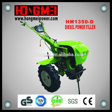 New Handle Diesel Gearbox Driven 12hp Cultivator/Mini Tractor 12hp/Tiller Cultivator