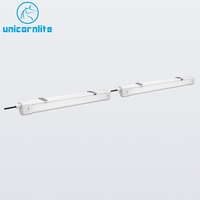 TUV CE ROHS Certificated 0.6M 1.2M 1.5M Aluminum Housing LED Tri Proof Light 36W