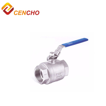 Alibaba China stainless steel investment casting 1/4-2 inch ball 2pc valve