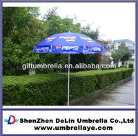 Advertising umbrella pepsi fabric