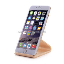 360 degree Free rotating wooden phone stand wood holder,mobile phone accessories