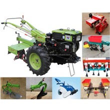 Agricultural Garden Mini Farm Walking Ploughing Price Tiller Cultivator Hand Tractor