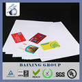 new plastic a4 size inkjet pvc sheet for HP printer