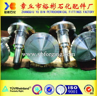Open Die Forging Forged Steel Shaft Propeller For Cargo Vessel