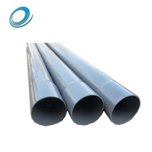 High temperature bulk customized big size hollow plastic pvc pipe in packaging