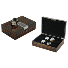 8 Big Size Wrist Watches Collection Wooden Watch Box