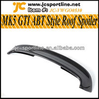 Real Carbon R32 GTI ABT Style MK5 Roof Spoiler For VW Golf V MK5 GTI Boots Trunk Roof Spoiler
