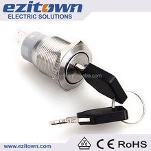 electrical ignition key lock power switch on off for roll up door for rolling shutter