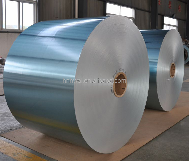 8011 1235 3003 aluminum foil chocolate wrapping paper Jumbo Roll price/industrial aluminum foil roll for food