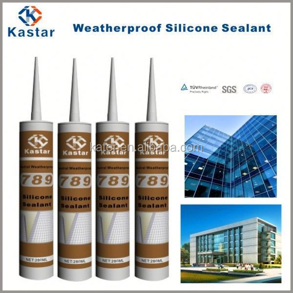 Cartridge & 600ml Sausage Weatherproof Neutral Silicone Sealant