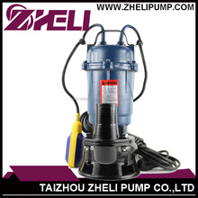 Top quality Farming Using WQD 550W Electric Submersible Sewage pump For European Customers