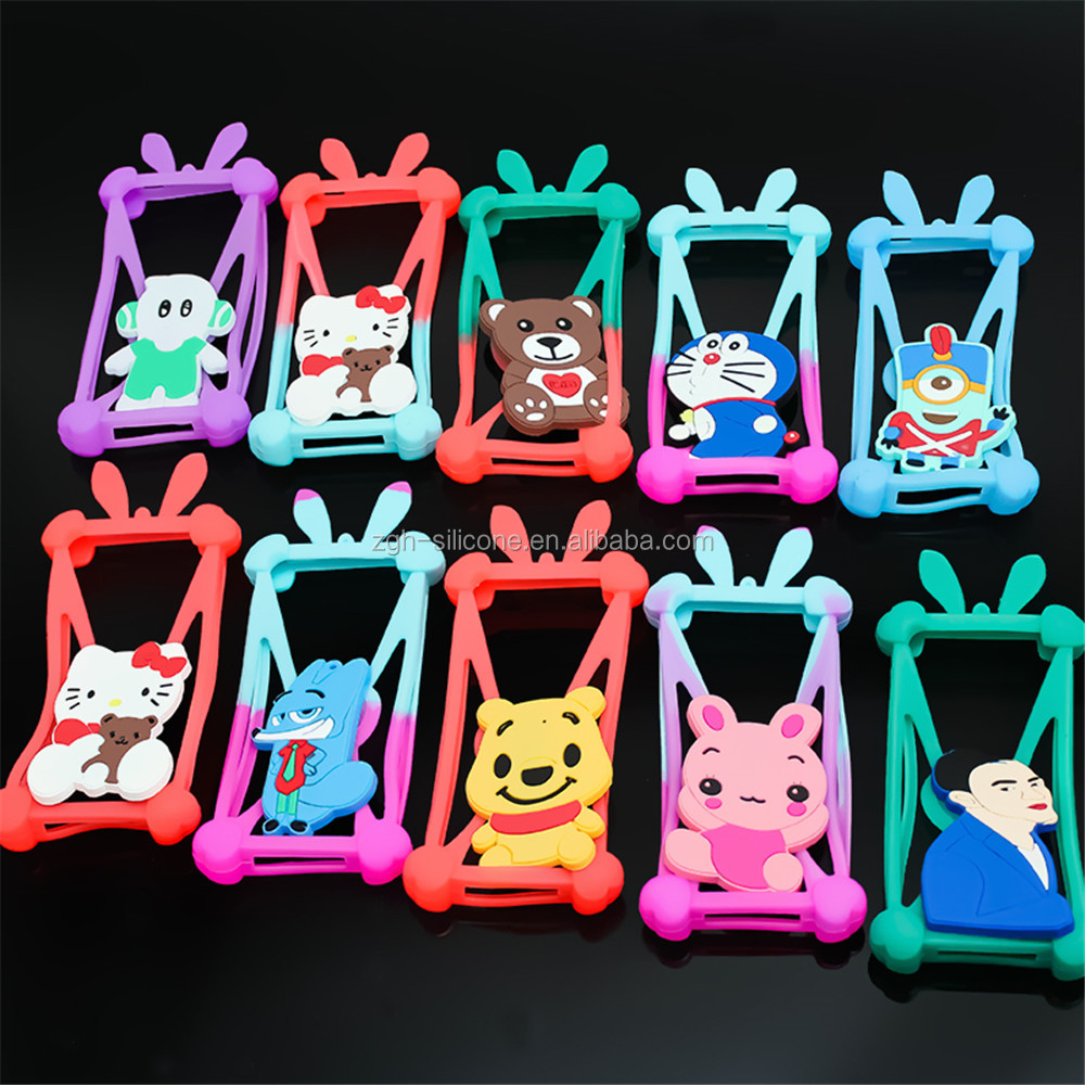 New Sell Waterproof Decorative Cartoon Mobile Phone Cover
