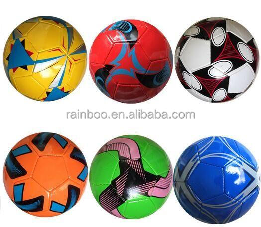 High quality customized promotional cheap soccer ball size 5