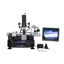 Hot-selling ZM-R5860C digital hot air rework station with a Camera and a monitor resoldering and soldering station