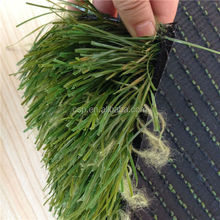 Non-Flat V shaped artificial grass for Residental playground