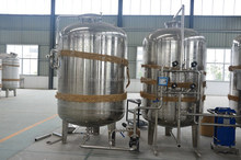 Water treatment equipment water softener machine