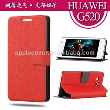 Multi color wallet case for huawei g520 g525 with stand from alibaba gold supplier