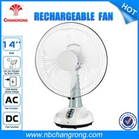 Table Fan Specifications Oscillating Rechargeable Fans