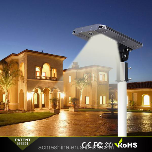 High End Solar Lights Outdoor Garden Led with Rotatable Mounting Bracket
