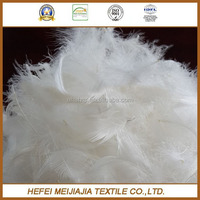 2-4cm washed white duck feather for sale cheap