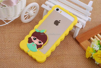 3D The Aristocats Lovely Cute Cartoon Bumper Cell Phone Frame Cases Covers for Iphone 5 5S