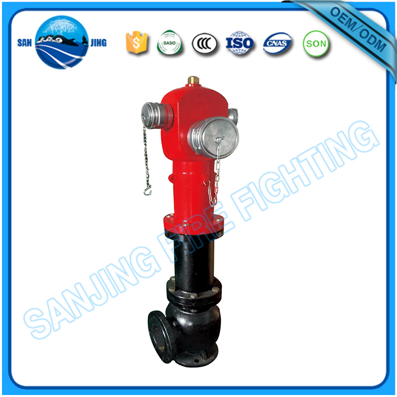 French type pillar stand pipe dry barrel fire hydrant price