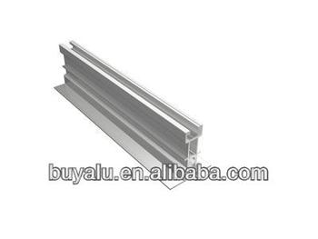 Construction industry profiles, extrusion profiles, aluminum