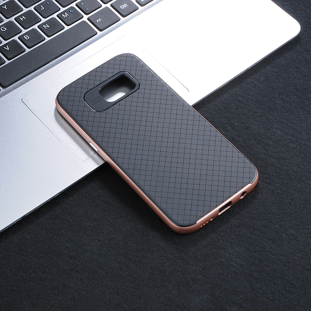 Carbon Fiber Phone Protector Cover Case cross stitch phone case for samsung