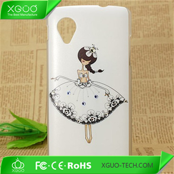 OEM suppported custom printed phone case for lg nexus 5