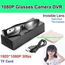 NEW Glasses Camera 1080P 30fps with TF Card.Invisible Lens