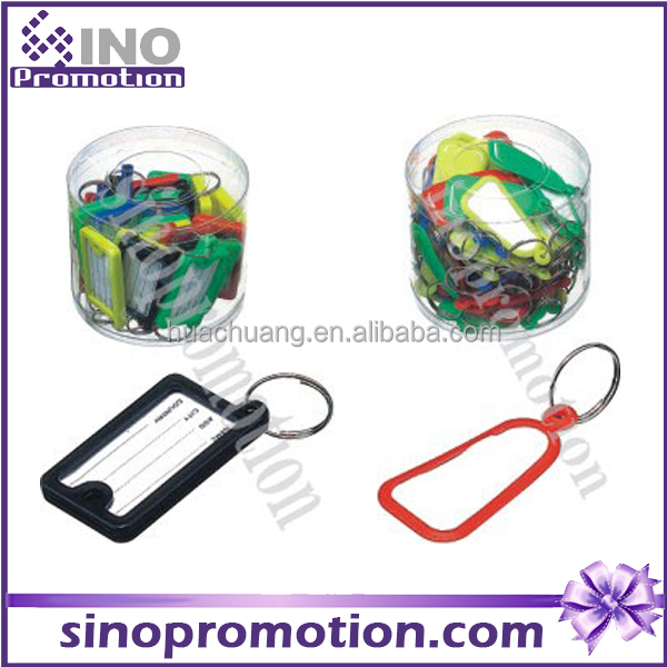 Plastic name tage Promotional Gift Key Ring Tag Name Tag