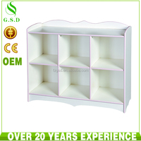 high quality bedroom child toy wood storage cabinet
