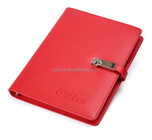 personalized a4 a5 notebook pu leather diary 2016 custom diary with lock